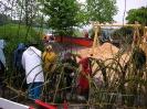 Spielplatzbau Tschädigen im Mai 2007